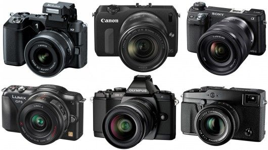 Gizmag compares our pick of the best six mirrorless camera ...