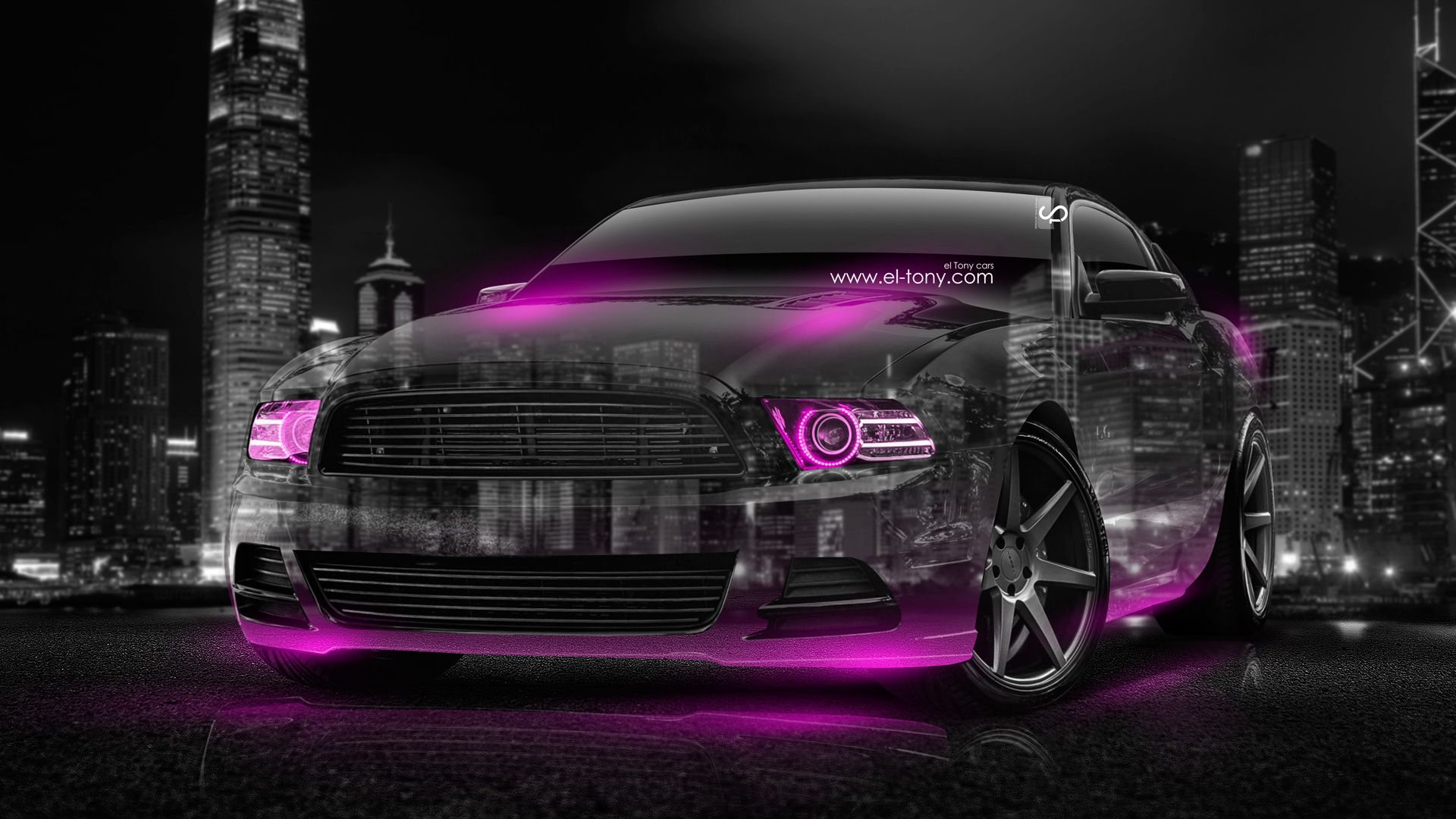 Merveilleux Ford Mustang GT Muscle Crystal City Car 2014