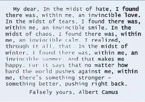 Pin By Maryellen Collin On Poetry Albert Camu Quote Quotes The Stranger Essay
