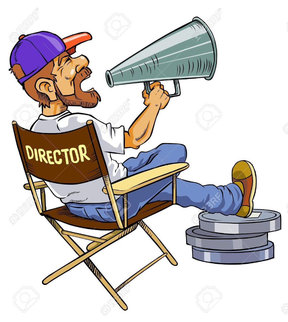 12827140 El Director De Cine Foto De Archivo Jpg 1160 1300 Director De Cine Director De Escuela Cine