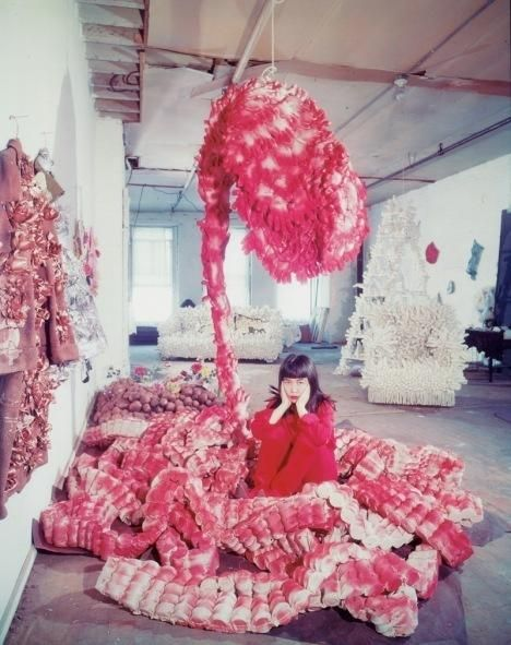 """I have a flood of ideas in my mind. I just follow my vision."" – Yayoi Kusama"