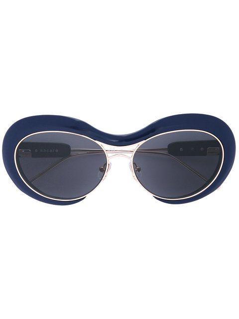 aviator sunglasses - Blue sacai viCZ80whK