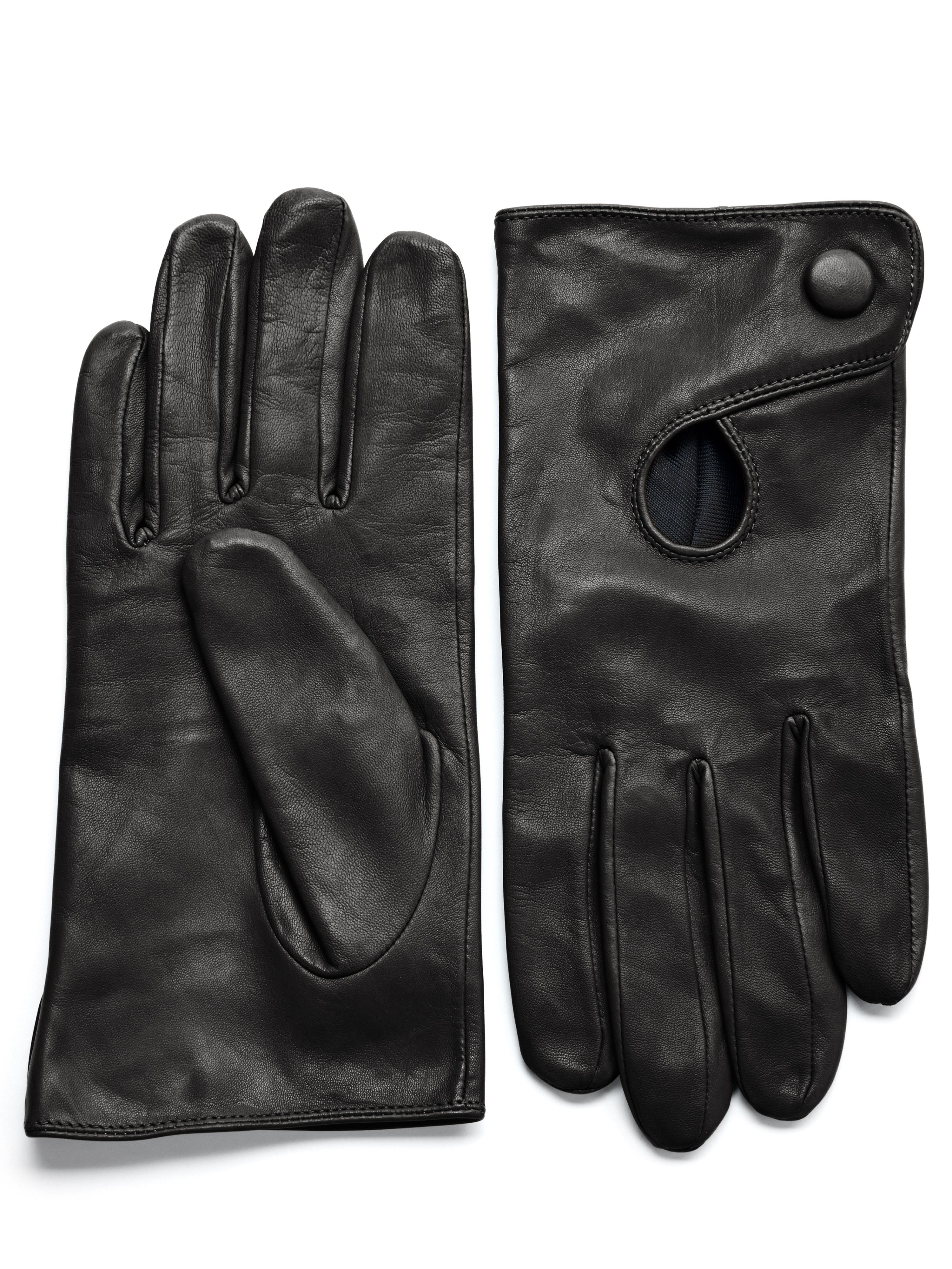 95052dbc2566d Black Leather Danier Gloves | Lizbeth | Leather, Gloves, Leather fashion