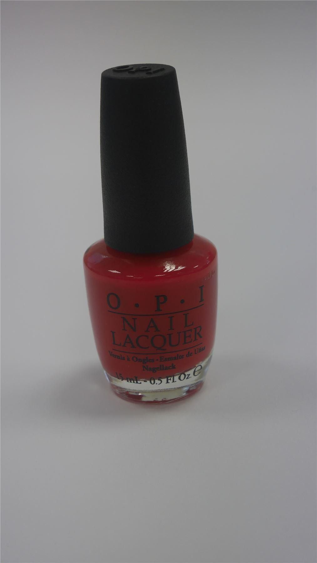 OPI Nail Polish Too Hot Pink To Holm em New