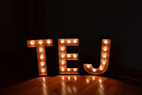 20 Inches Lighted Letters Large Letter Light Wedding Marquee Lights Light Up Names Light Up Letter Marquee Sign Light Letter Light Letters Light Up Letters Marquee Lights
