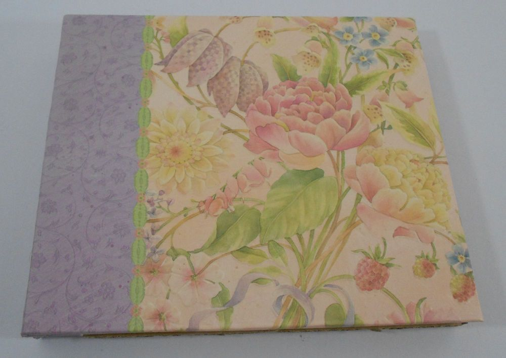 Kcompany Scrapbook 6 X 6 Floral 12 Pages Scrapbook Floral And