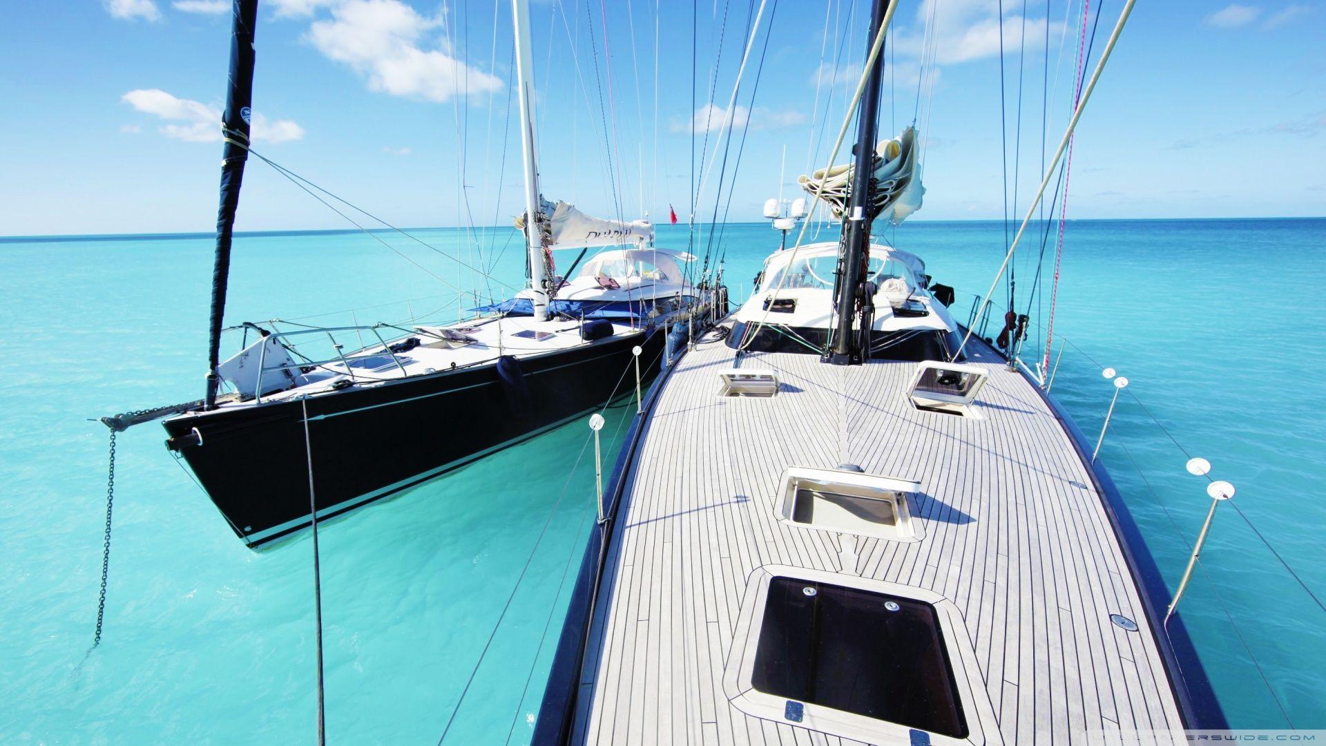 Download Sailing Yachts Hd Wallpaper Con Imagenes Barcos