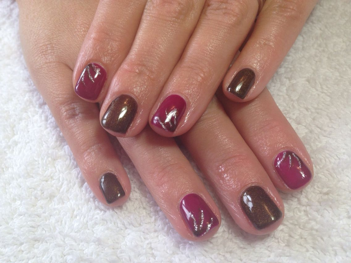 New Calgel Colours In Front Row And Guest List With Art Calgel Nails Nails Hair And Nails