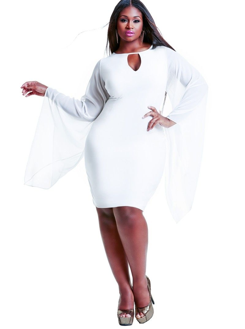 white party ideas and faves from monif c plus sizes | curvy