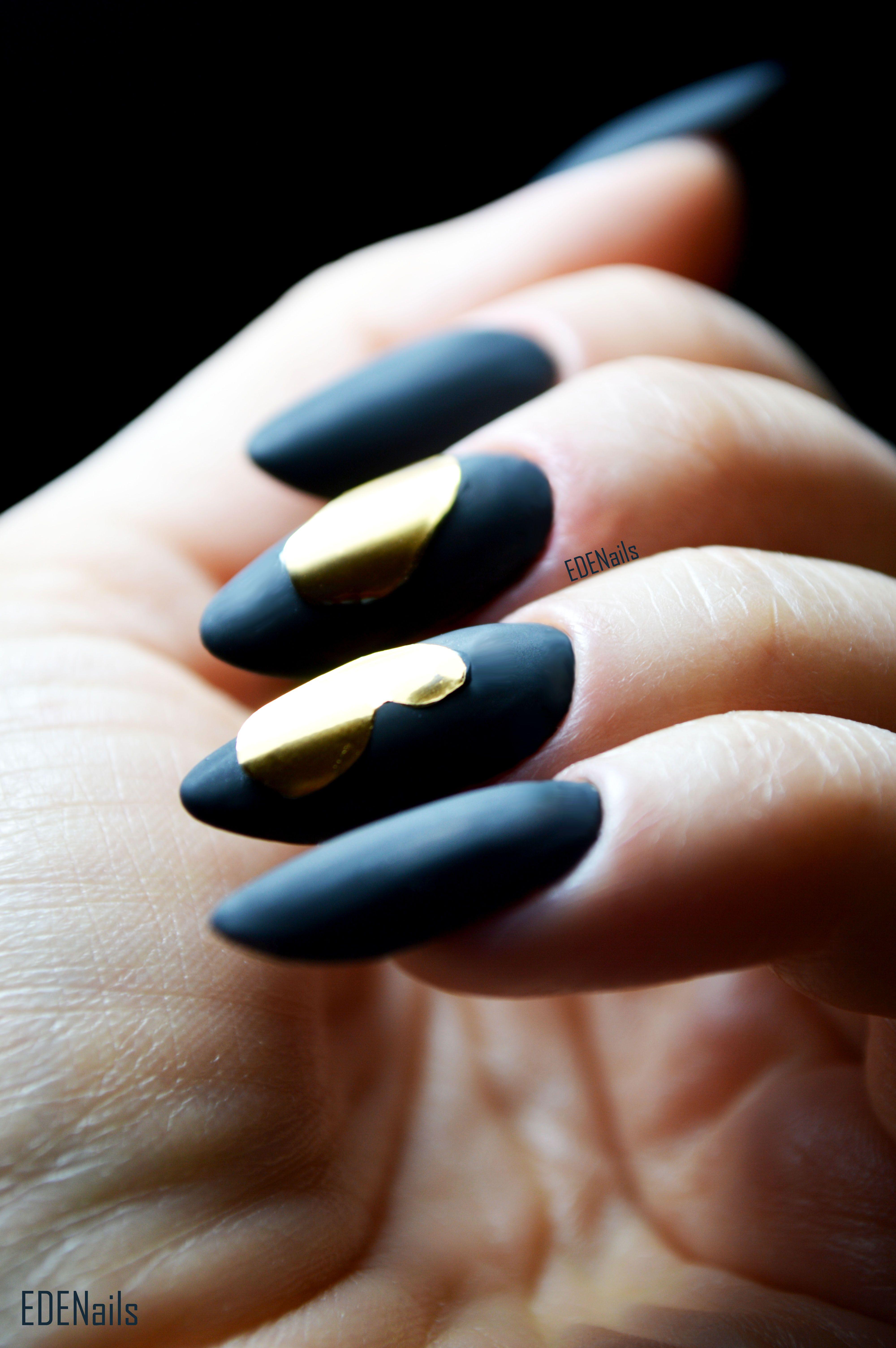Nogti Nails Paznokcie Mani Mat Matt Matowe Matowepaznokcie
