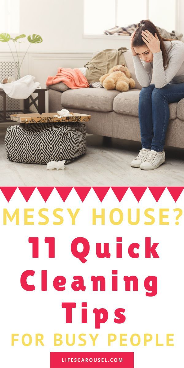 11 Quick Cleaning Tips [For Busy People!] - June 2019 images