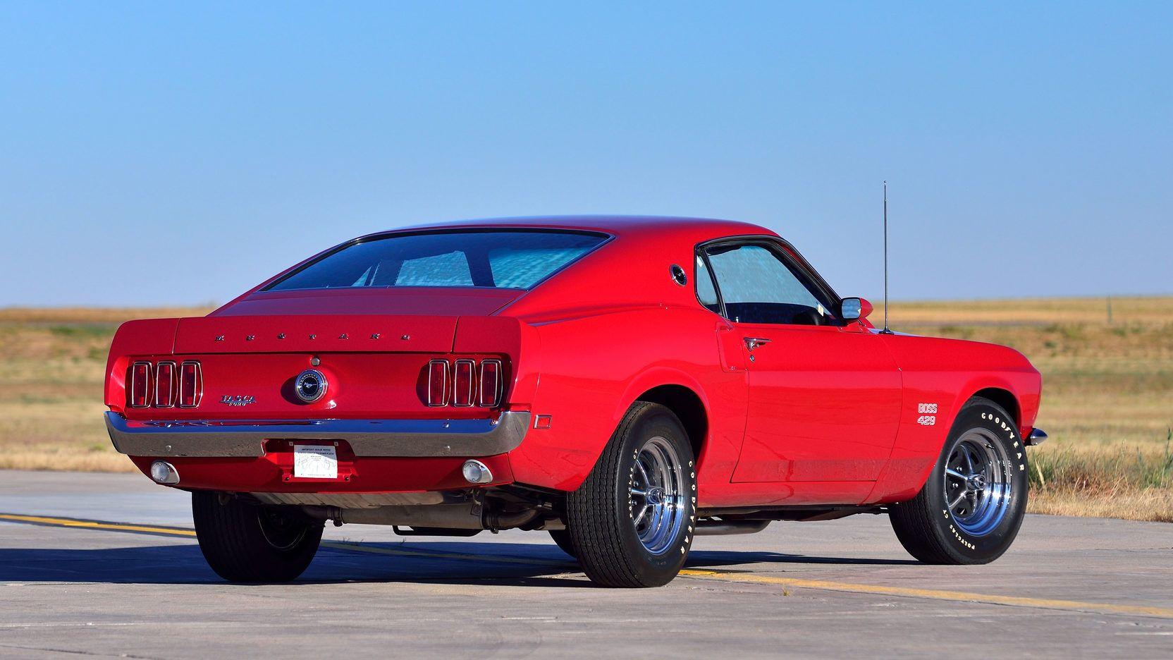 1969 Ford Mustang Boss 429 In Candy Apple Red Kk 1663 Ford Mustang Boss Ford Mustang Ford Mustang Shelby Cobra