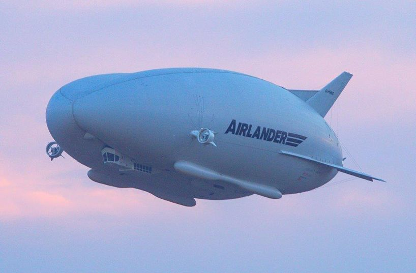 hybrid air vehicles airlander 10: largest aircraft has first