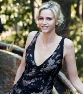 Her Serene Highness Princess Charlene of Monaco Attends the Monte-Carlo ATP Masters Series Tournament.