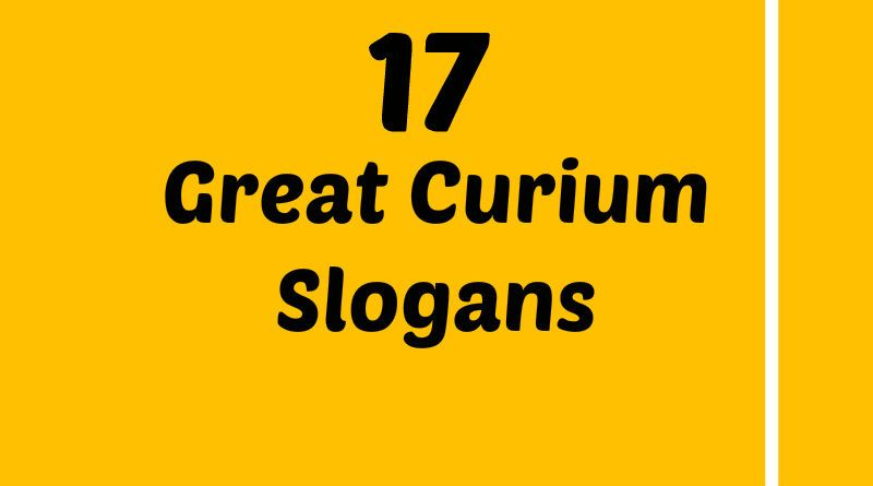 Curium Slogans Element Slogans Pinterest Slogan And Atomic Number
