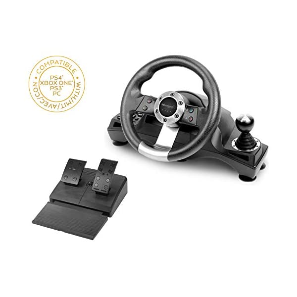 Subsonic Sa5156 Drive Pro Sport Racing Wheel For Playstation 4 Ps4 Slim Ps4 Pro Xbox One Xbox One S And Ps3 My Electronic Deal Shop Xbox One For Sale