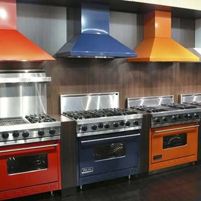 Colored Kitchen Appliances Glass Tables Round The Latest In Sean I Love Colorful It Is So Far Away From Ordinary Stainless Steel