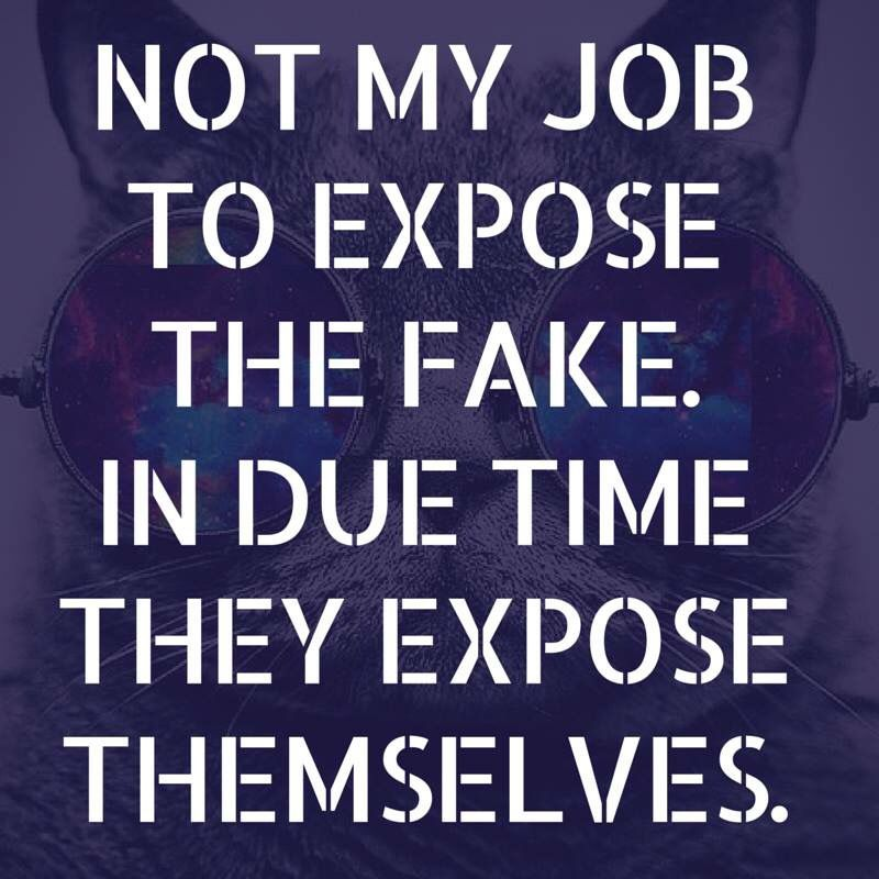 Not My Job To Expose The Fake Fake People Quotes Phony People Quotes Fake People Quotes Fake Friend Quotes