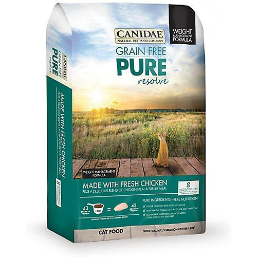 Canidae Pure Resolve Weight Management For Cats 8lb Bagmedium
