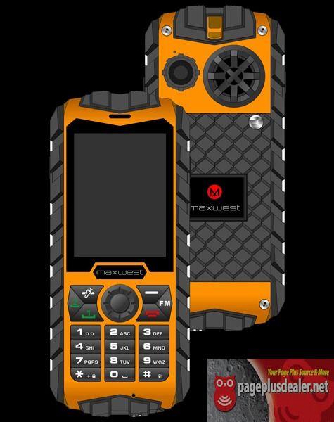Maxwest Ranger 2g 64mb Orange Unlocked Gsm 850 900 1800 1900 Dual Sim Cell Phone Rugged Cell Phones Waterproof Phone Phone