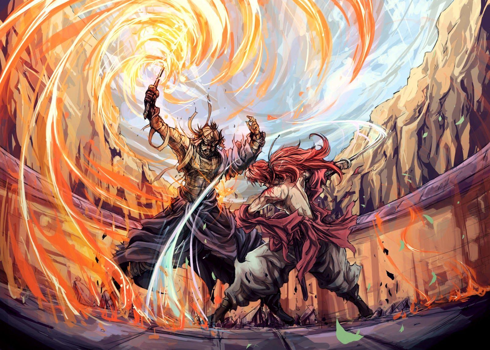 10 Rurouni Kenshin Fan Art to Get You Ready for The Legend