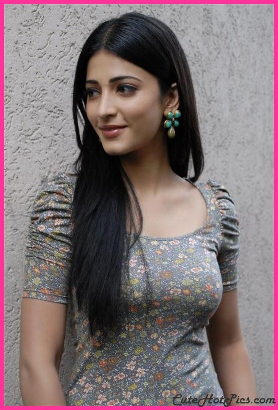Super Hot And Cute Indian Actress Shruti Hassan Wallpapers Hd