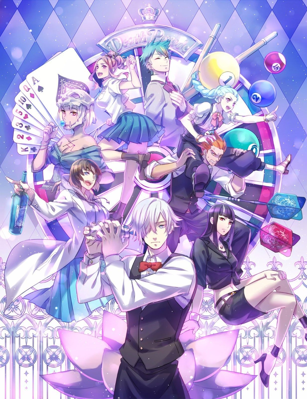 Death Parade Anime Poster 13 x 19 | eBay