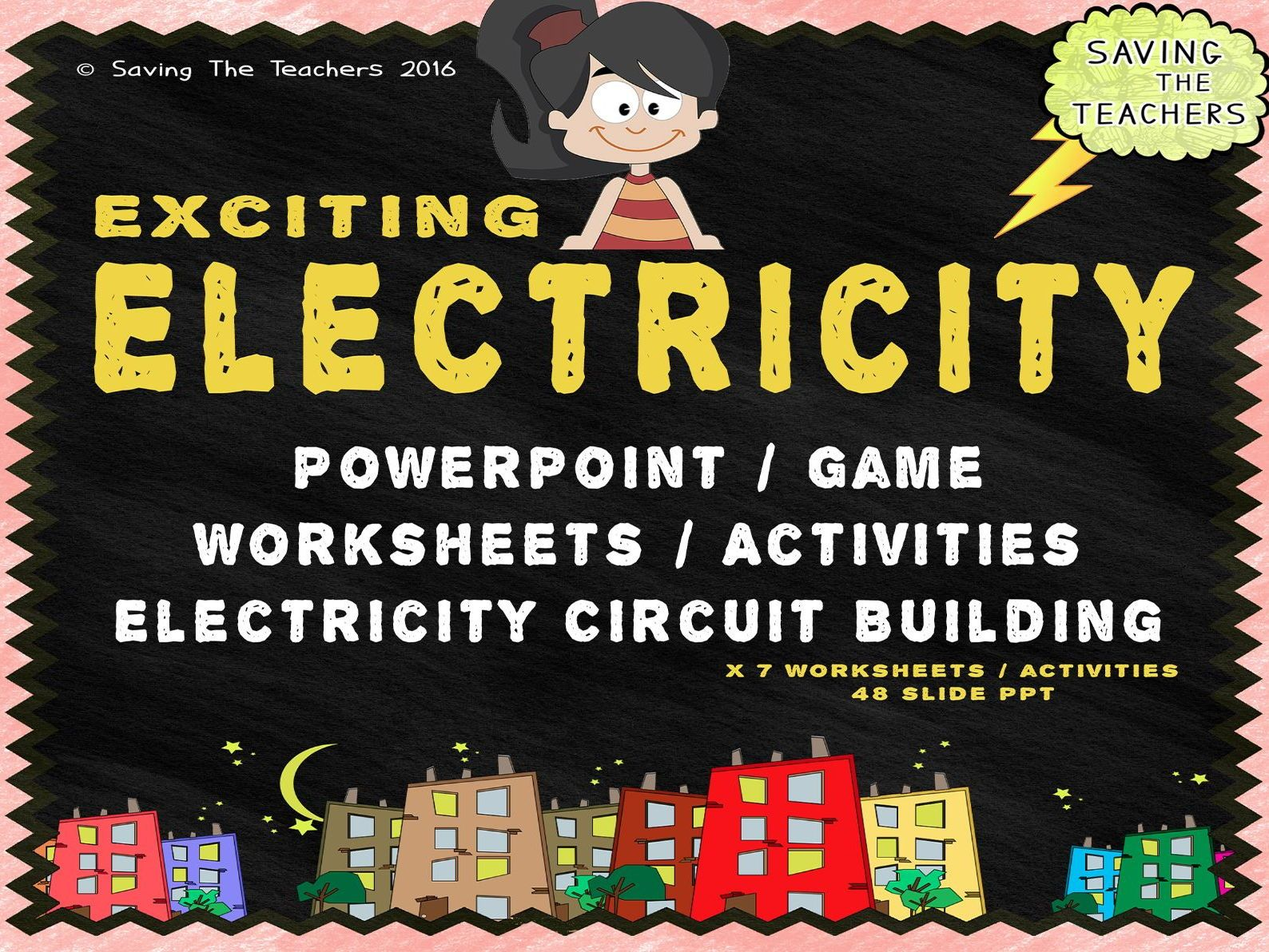 Electricity Powerpoint Worksheets Activities And