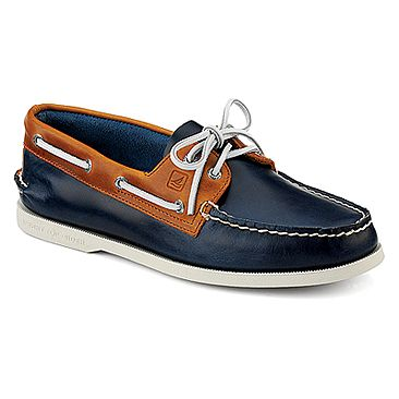 Sperry Top-Sider A/O 2-Eye Cyclone | Men's - Dk Blue · Sperrys MenBoat Shoes  ...