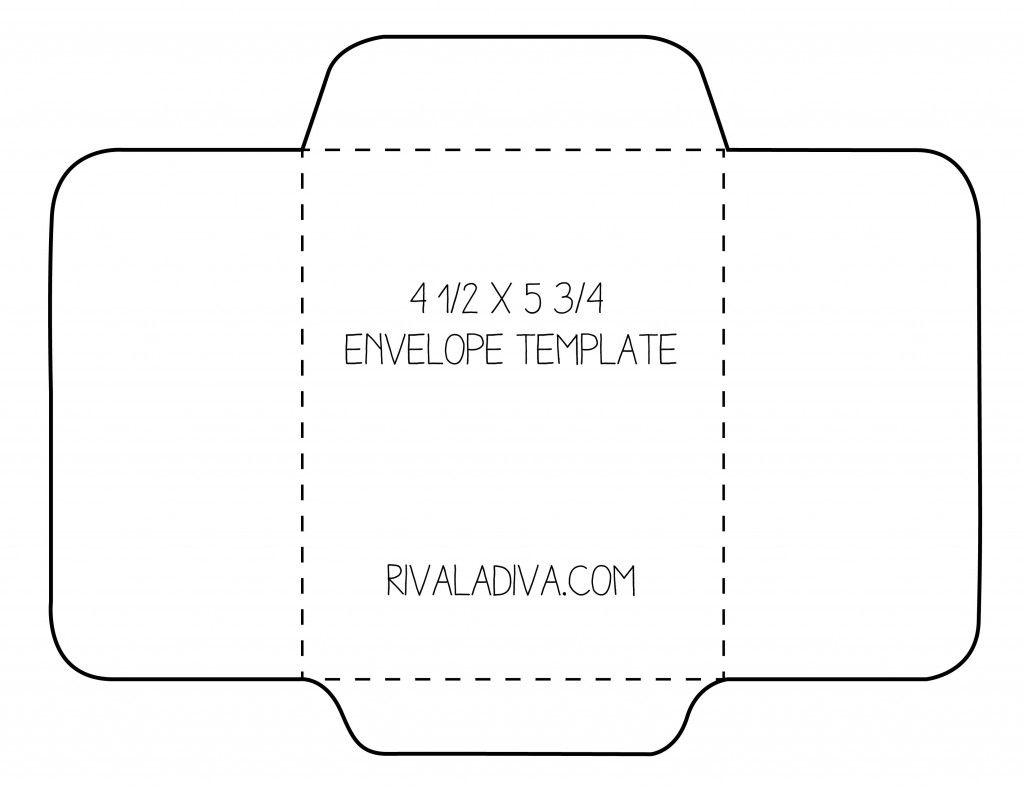 Diy Envelope Template Free Printable Envelopes Gift Card Envelope Template Diy Envelope Template Free printable 5x7 envelope template
