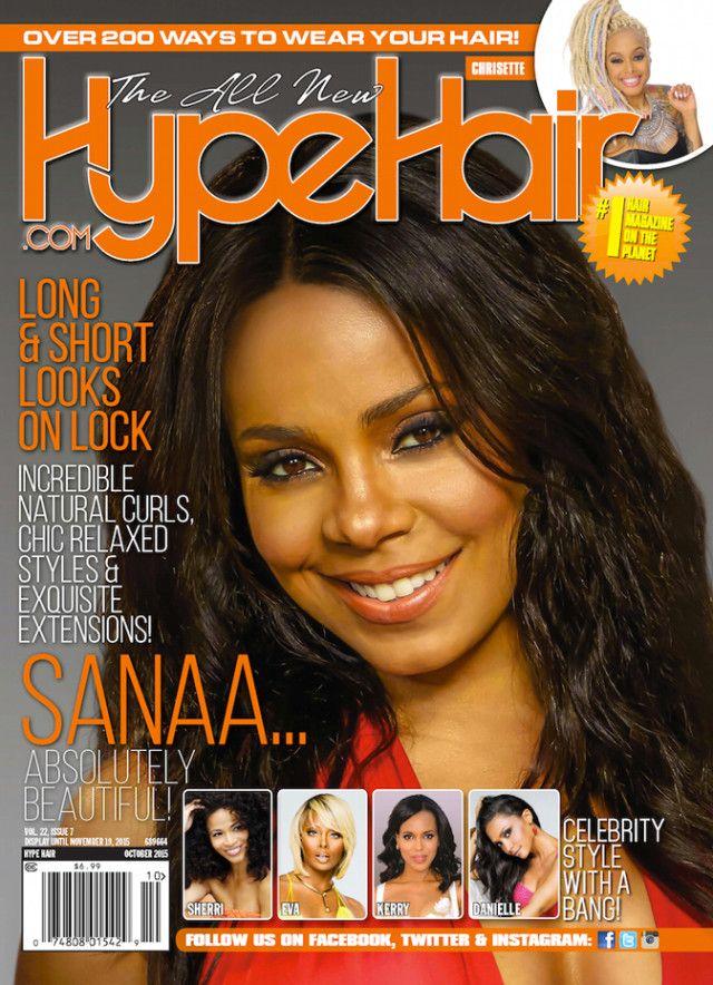 Sanaa Lathan | Hype Hair October 2015 | Hype Hair Magazine ...