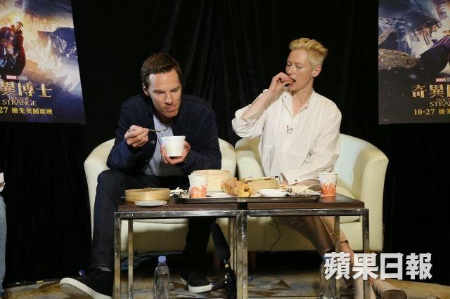 英國男神班尼狄甘巴貝治(Benedict Cumberbatch)襲港,今日佢同《奇異博士》(Doc...