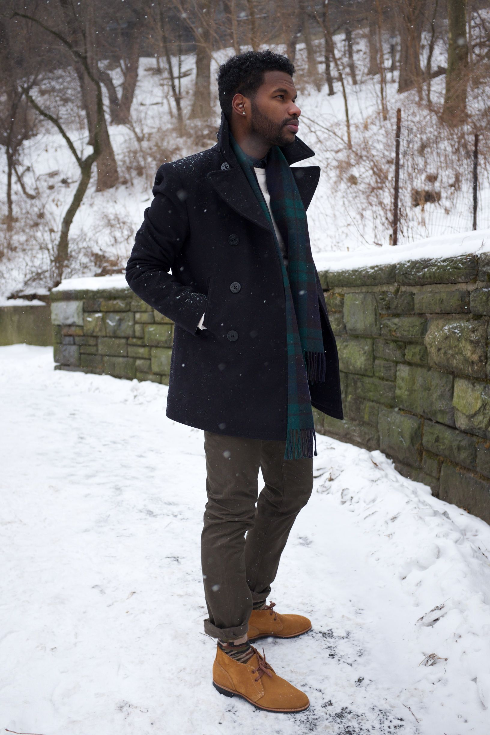 Pea Coat Sweatshirt | Down Coat