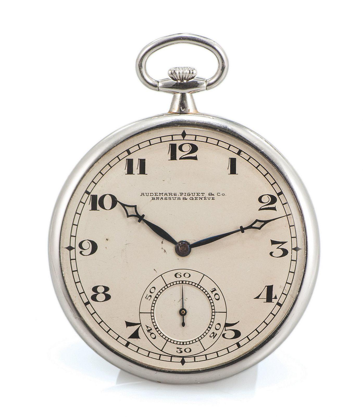 https://flic.kr/p/fznAWB | Audemars Piguet & Co Platinum Pocket Watch 1915
