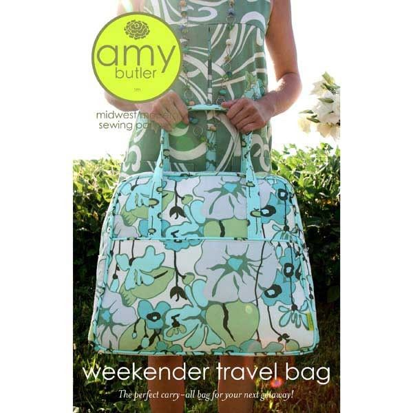 Amy Butler Weekender Travel Bag Pattern Would Love To Make This But Think It Be Difficult