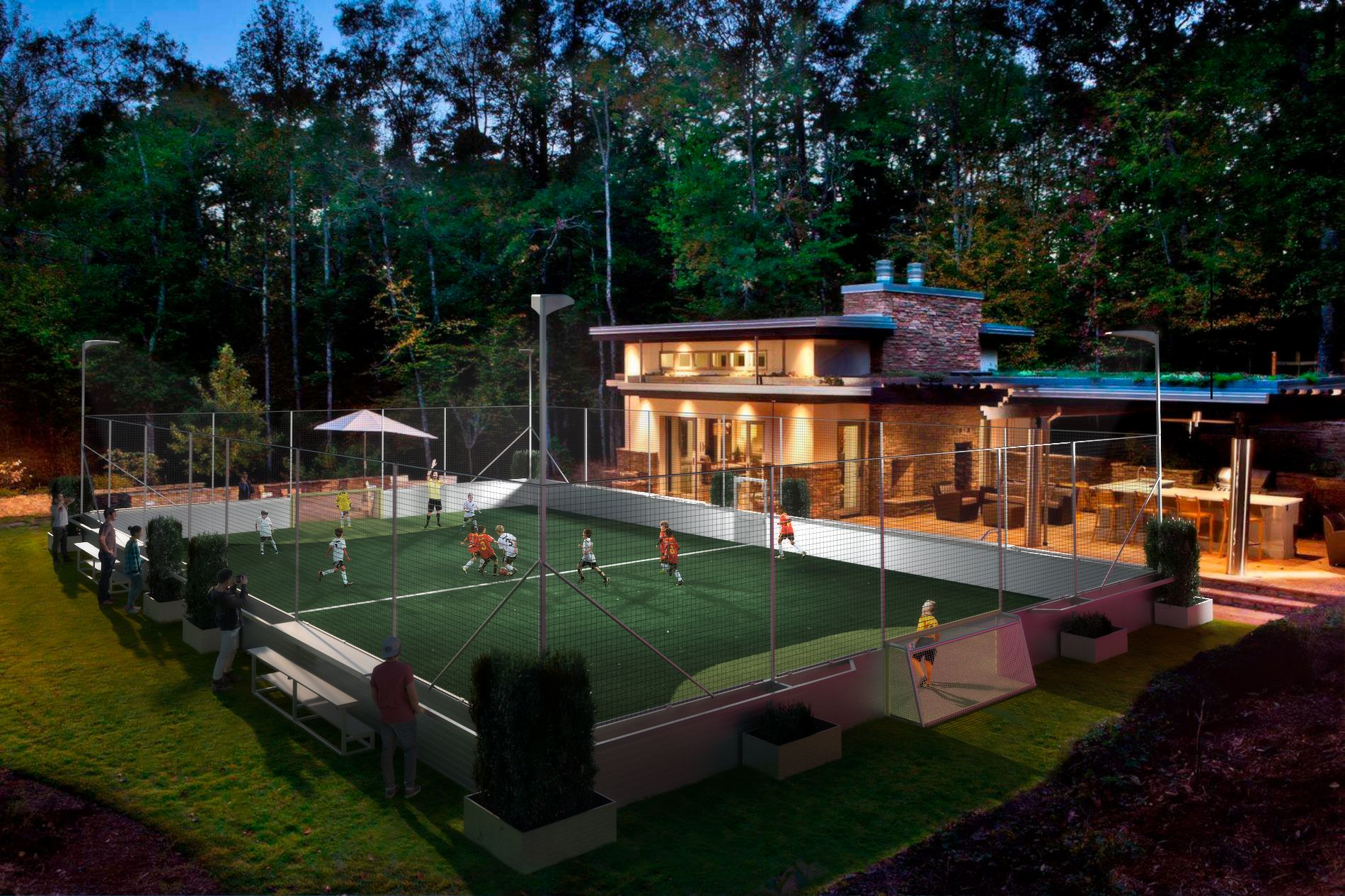 Build A Mini Pitch In Your Backyard So That You Can Be