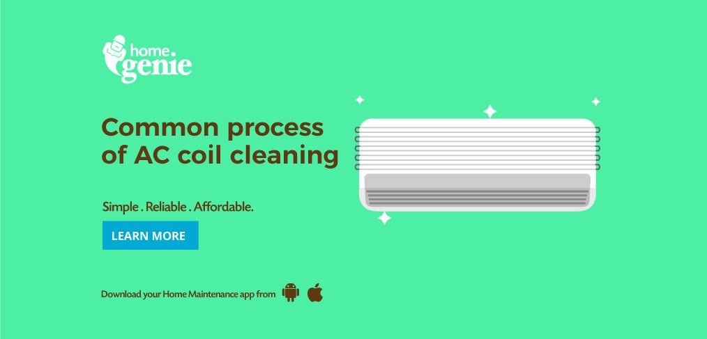 Common process of ac coil cleaning ac coil cleaning ac
