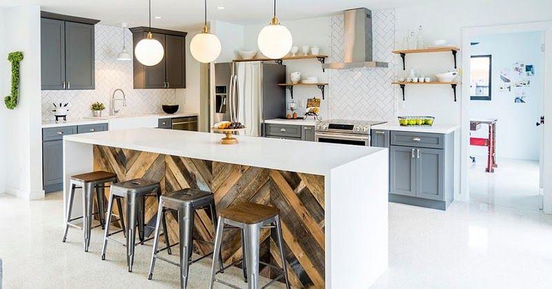 Fronty Kuchenne Z Drewna Z Odzysku Fronty Drewniane Fronty W Jodelke Kitchen Designs Layout Kitchen Design Layout Modern Kitchen Design