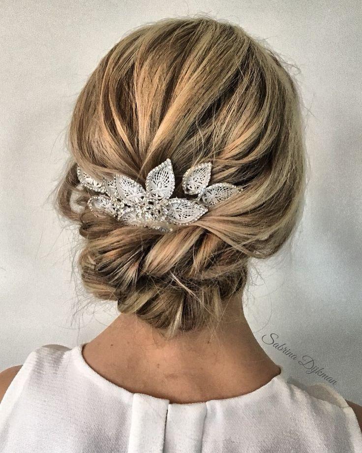 Flechtfrisuren zur Hochzeit: 50 Brautfrisuren mit Zopf – Page 15 of 57 – hochzeitskleider-damenmode.de – Brautfrisuren | Bridal Hairstyle