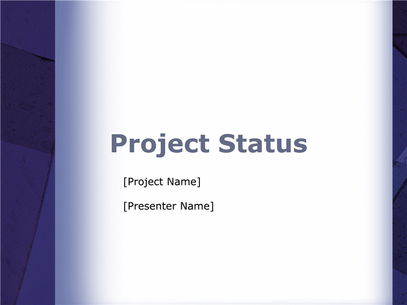 Project Status Report Presentation  Project Mgmt