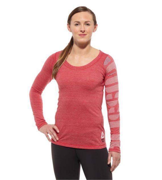 4b0acffdbd Reebok Women's Reebok CrossFit Toughest Girl I Know Tri-Blend Long ...