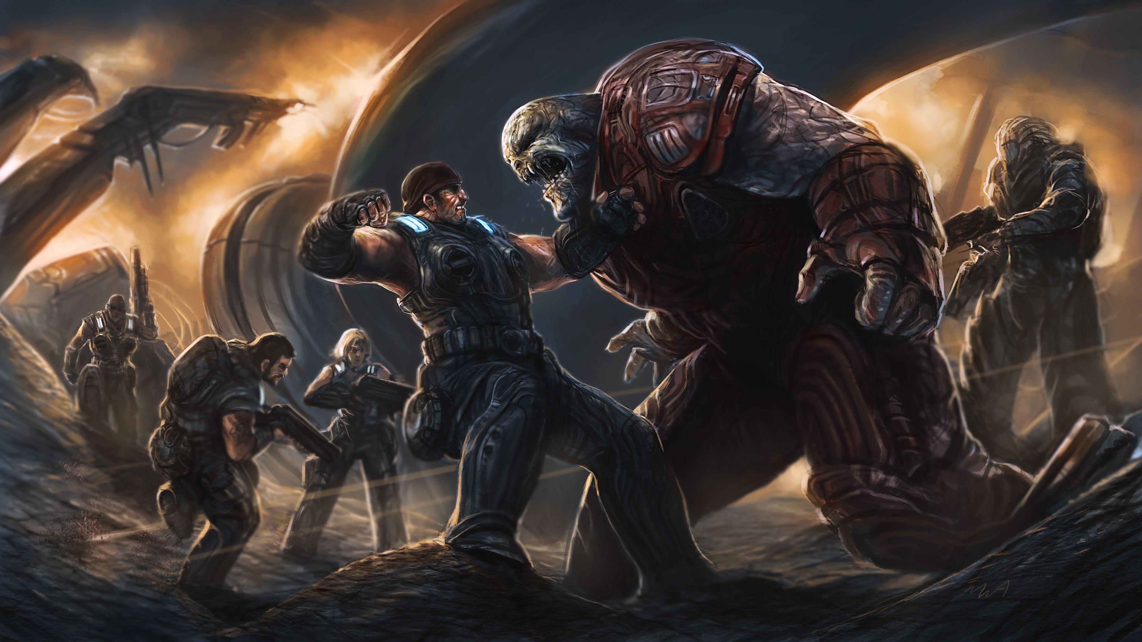 Gears Of War 3 By Thechaoticknight Deviantart Com On Deviantart Gears Of War Gears Of War 3 Gears Of War 2