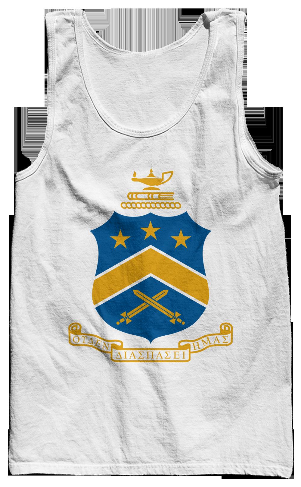 Pi Kappa Phi Crest Tank Top Lsu Pinterest Kappa And Alpha