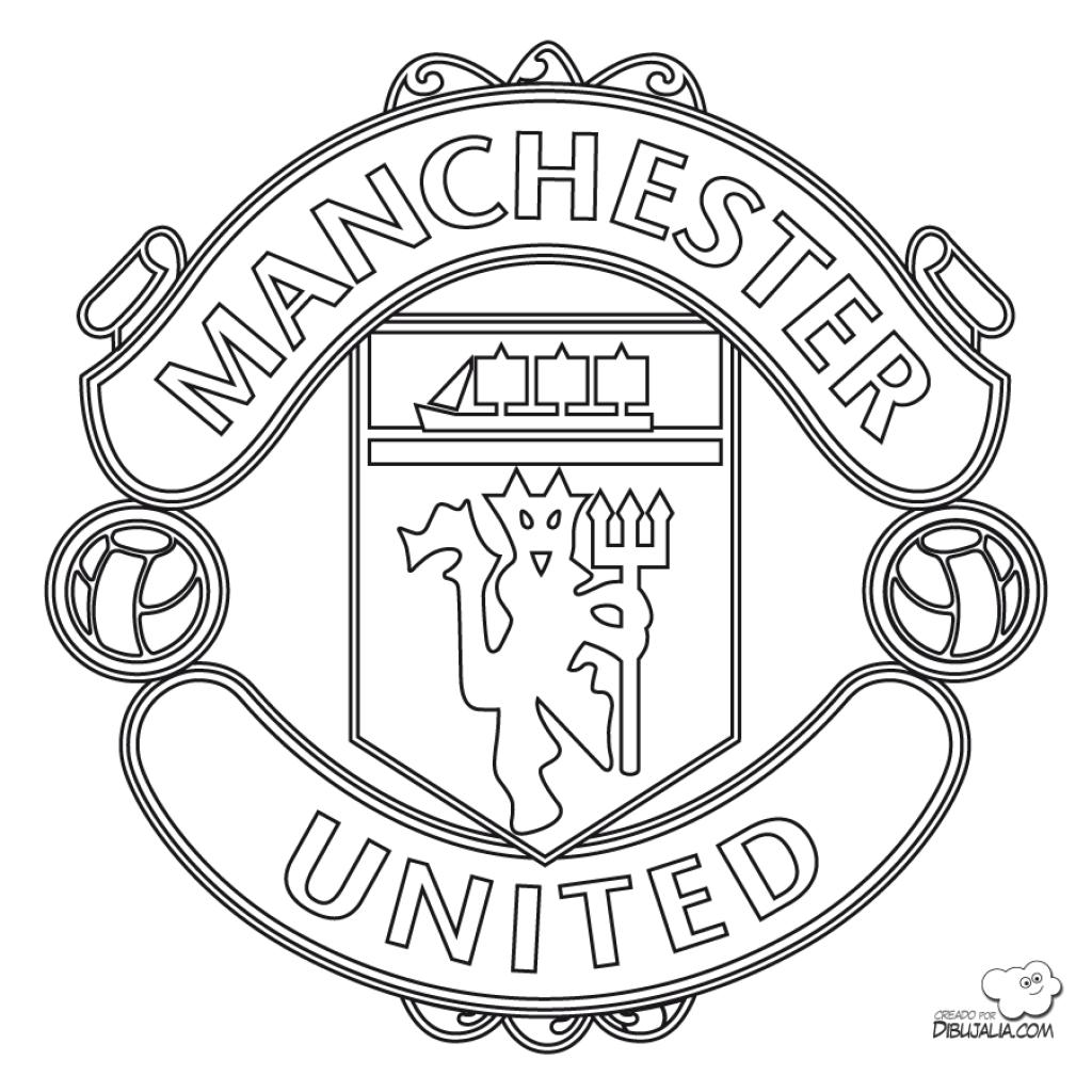 Manchester United Logo Sketch