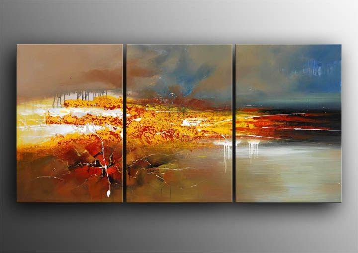 3 luik schilderij