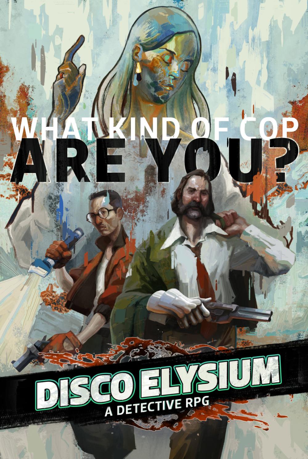 ArtStation Disco Elysium Cover Art, Aleksander Rostov