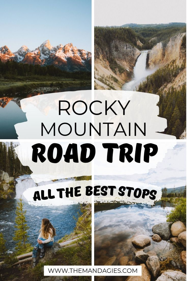Photo of The Only Rocky Mountain Road Trip Route You'll Ever Want (A 2-Week Itinerary) – The Mandagies