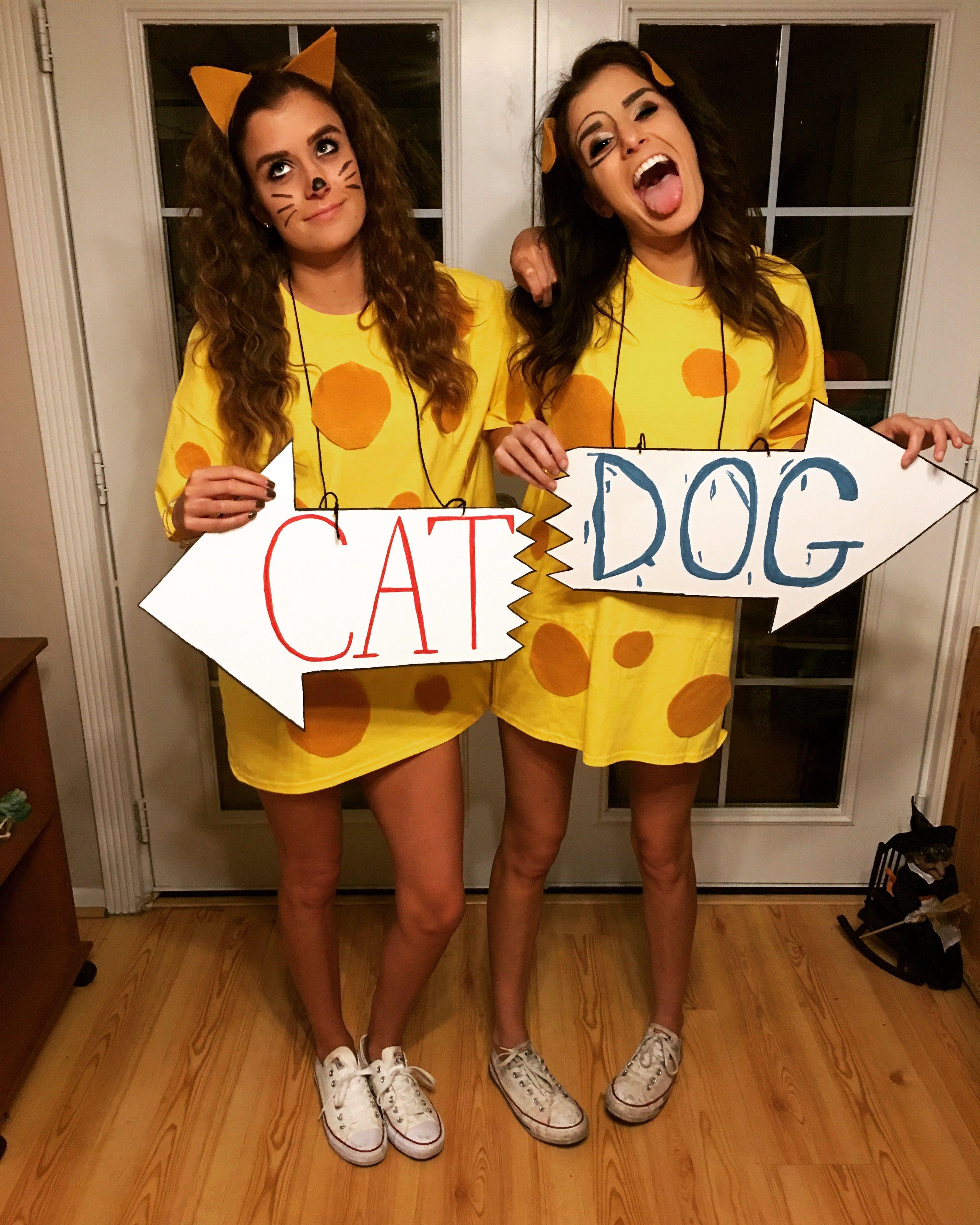 Cat Dog Halloween Costume Insta Saraolivass Cartoon Halloween