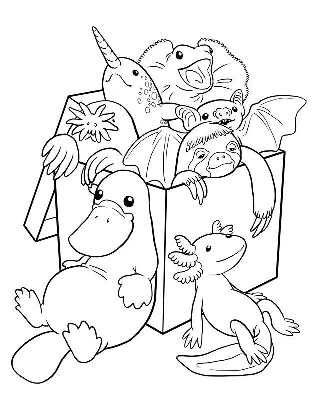 weird coloring page - Google Search | Colouring pages | Pinterest