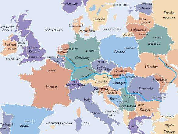 All Countries In Europe Map – Map of All Europe